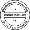 Officially approved Porsche Club 13